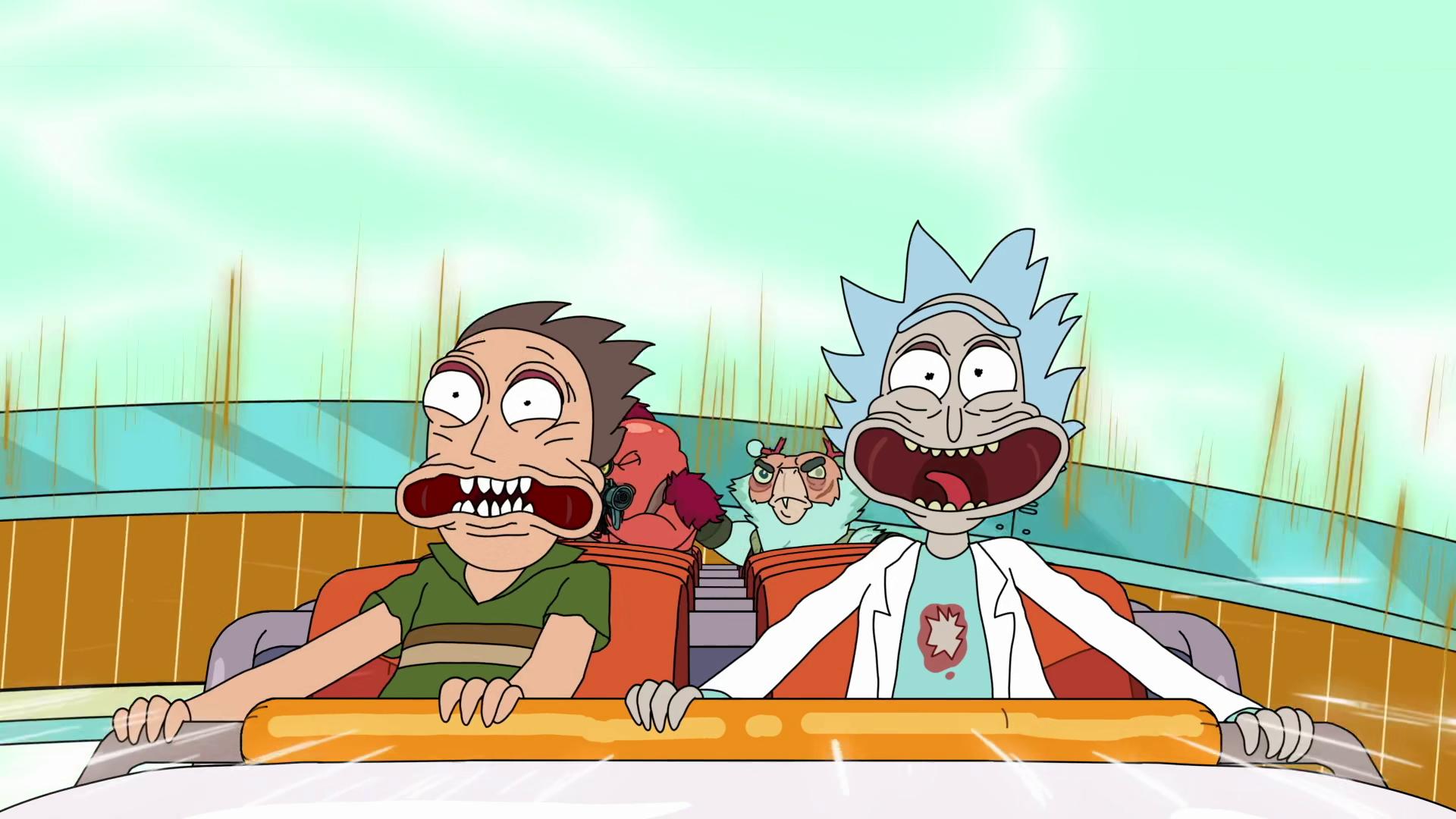 """Jerry och Rick i """"Rick and Morty"""""""