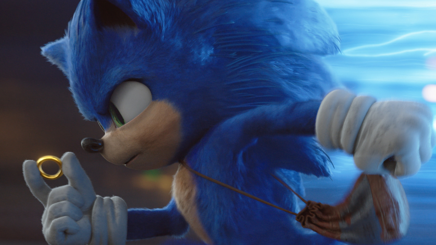 "Stillbild ur ""Sonic The Hedgehog"""