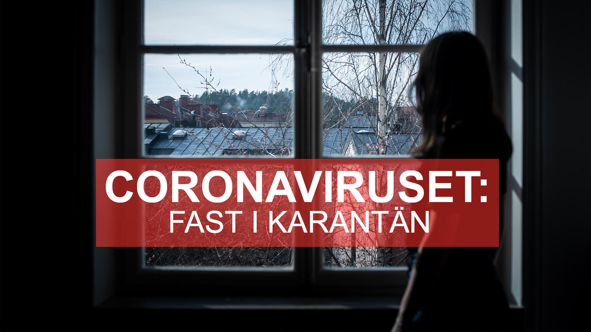 Coronaviruset - Fast i karantan.