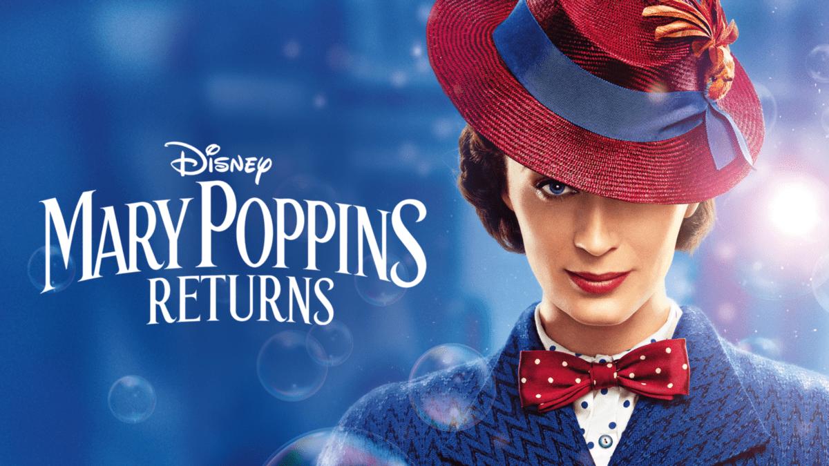 Emily Blunt som Mary Poppins på Disney+