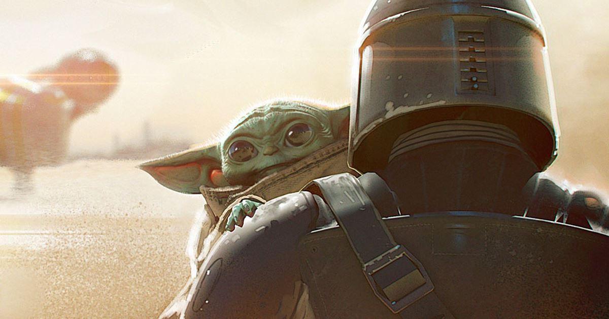 """Baby Yoda i """"The Mandalorian""""."""