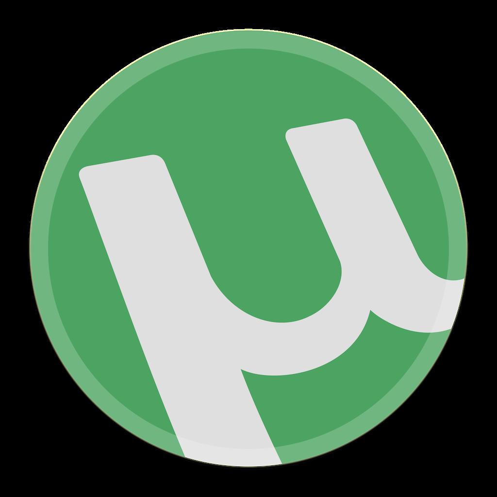 uTorrents logga.