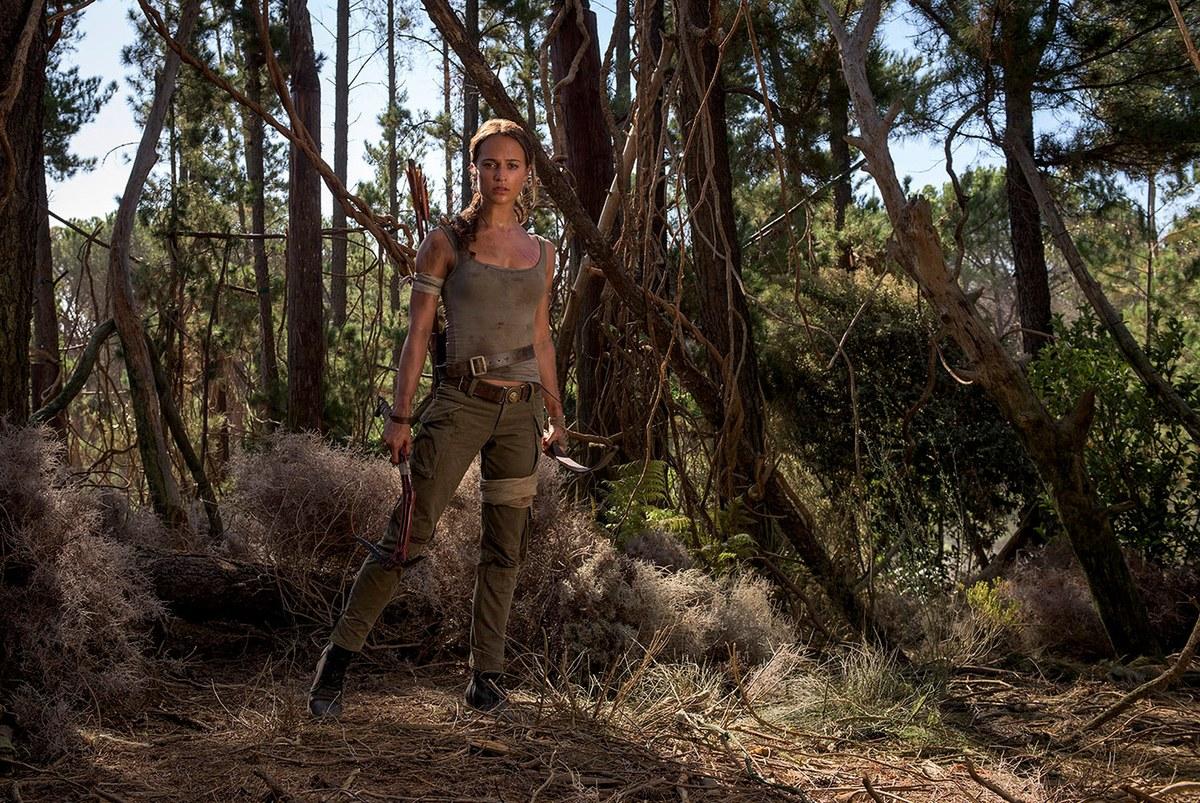 """Alicia Vikander i """"Tomb Raider""""."""