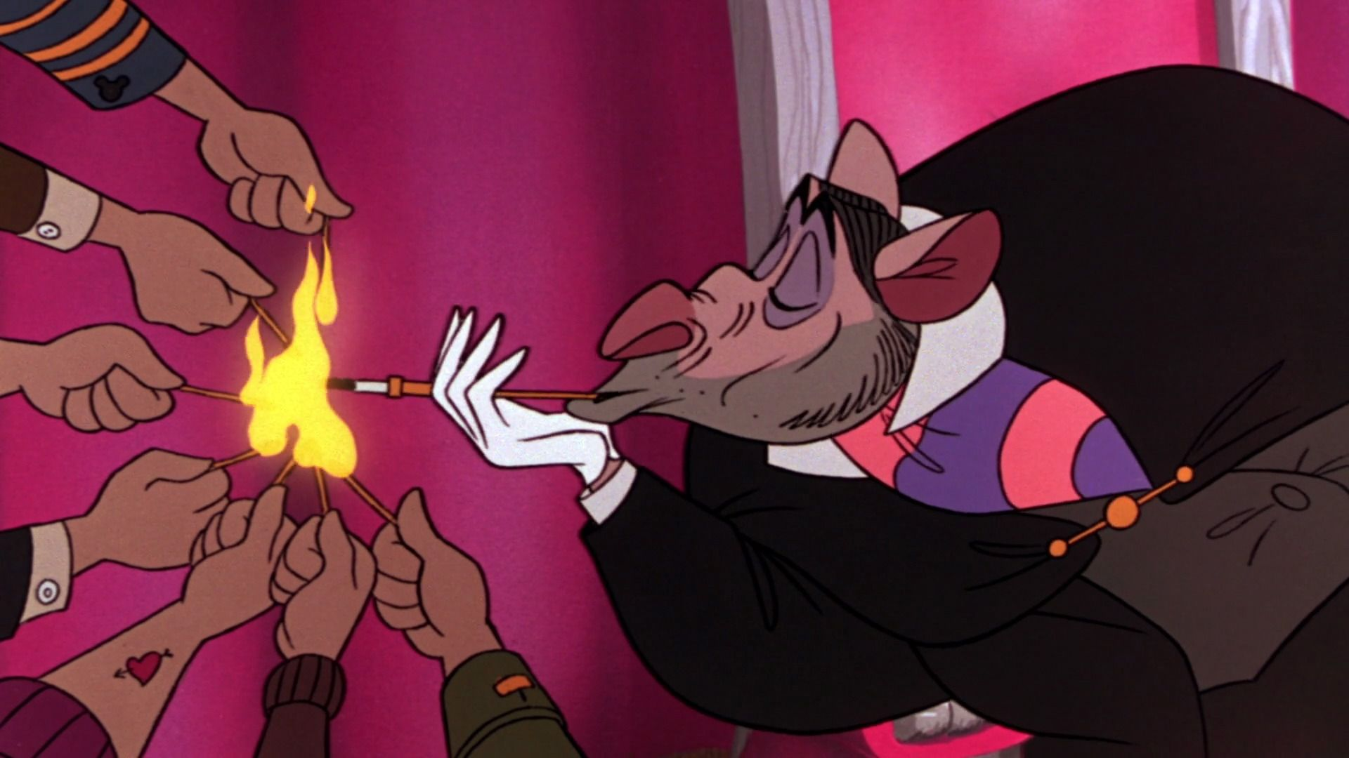 The Great Mouse Detective.