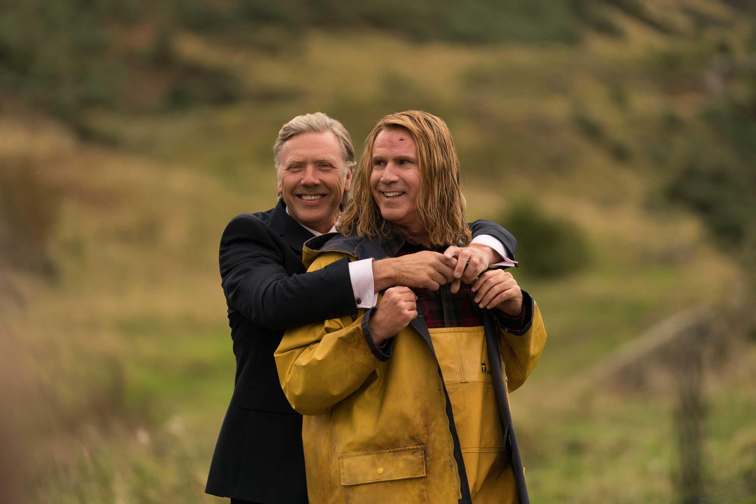 Mikael Persbrandt och Will Ferrell