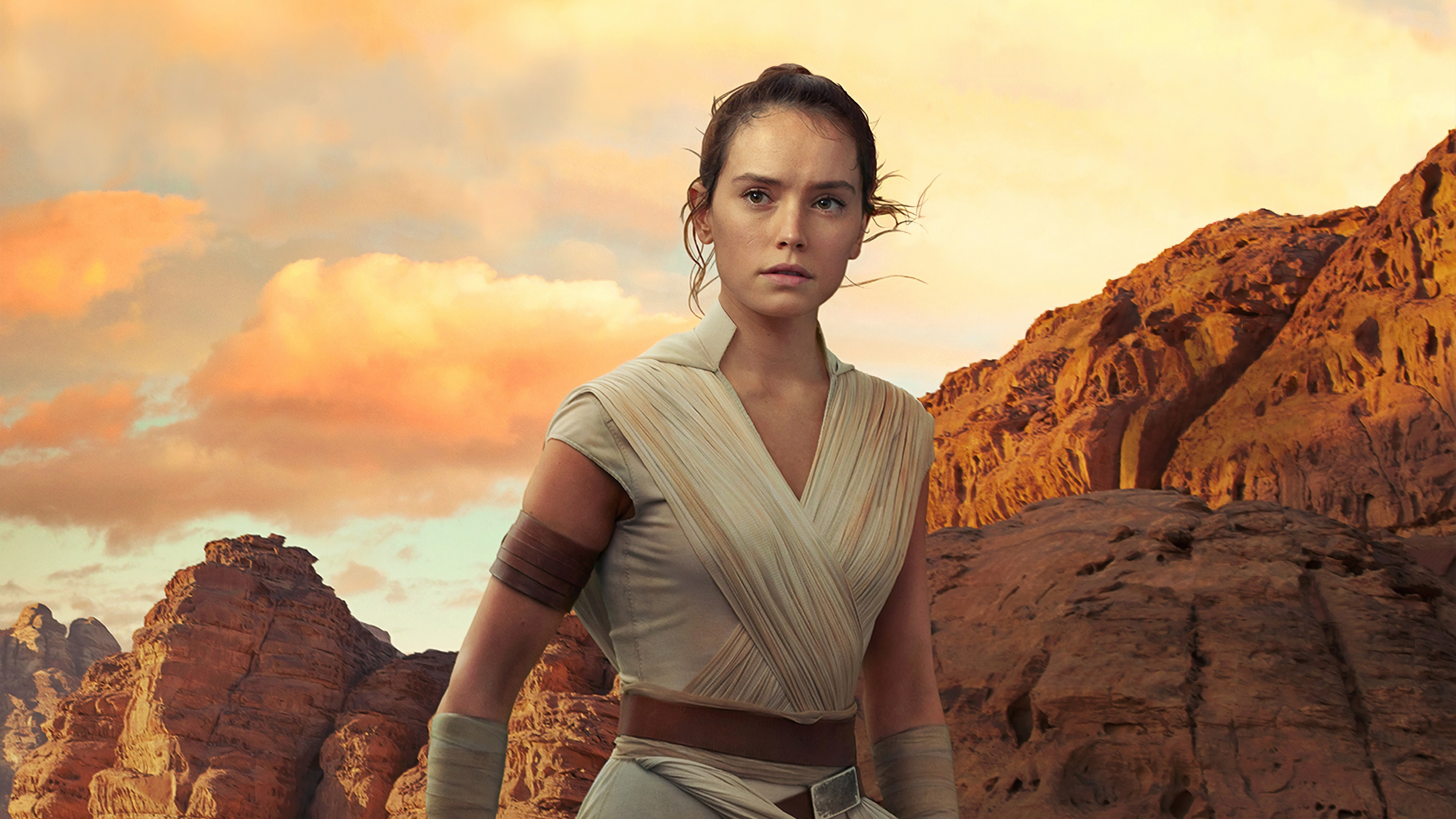 """Daisy Ridley i """"Star Wars: The Rise of Skywalker""""."""