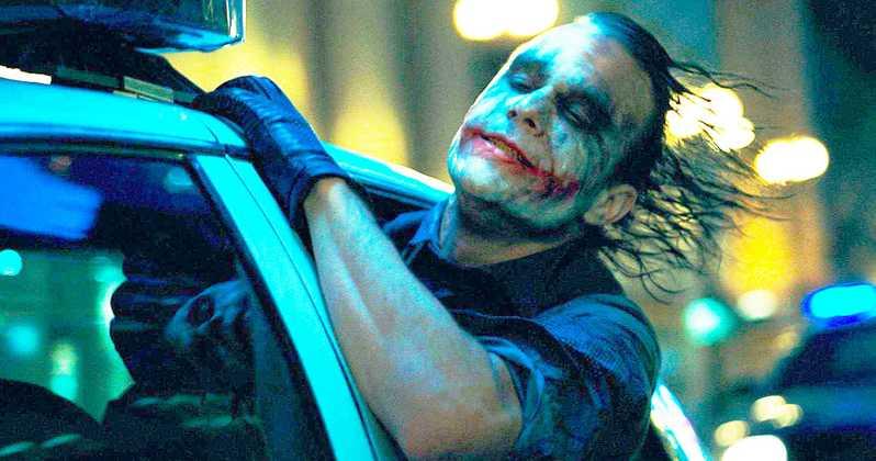 """Heath Ledger i """"The Dark Knight""""."""