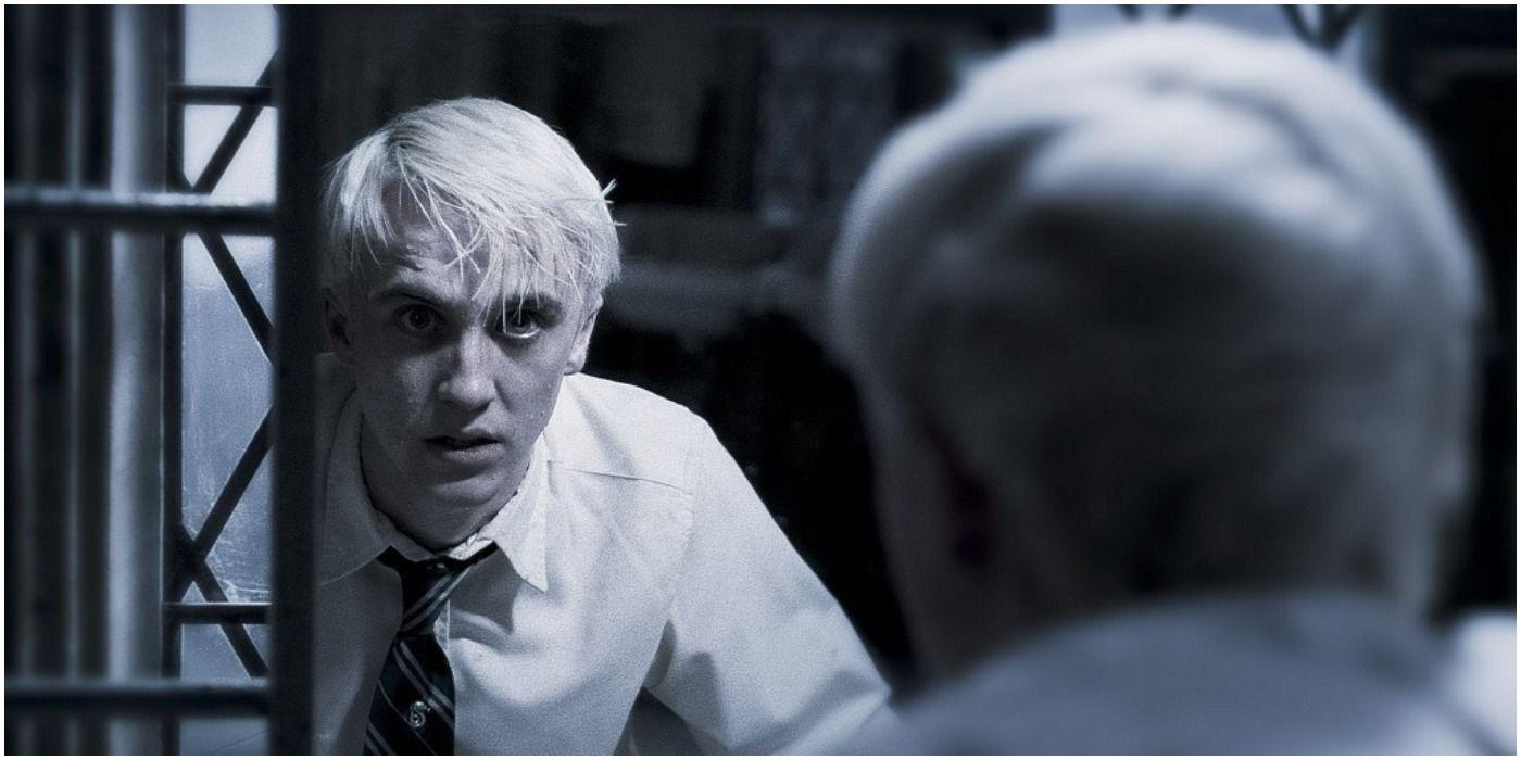 Tom Felton som Draco Malfoy.