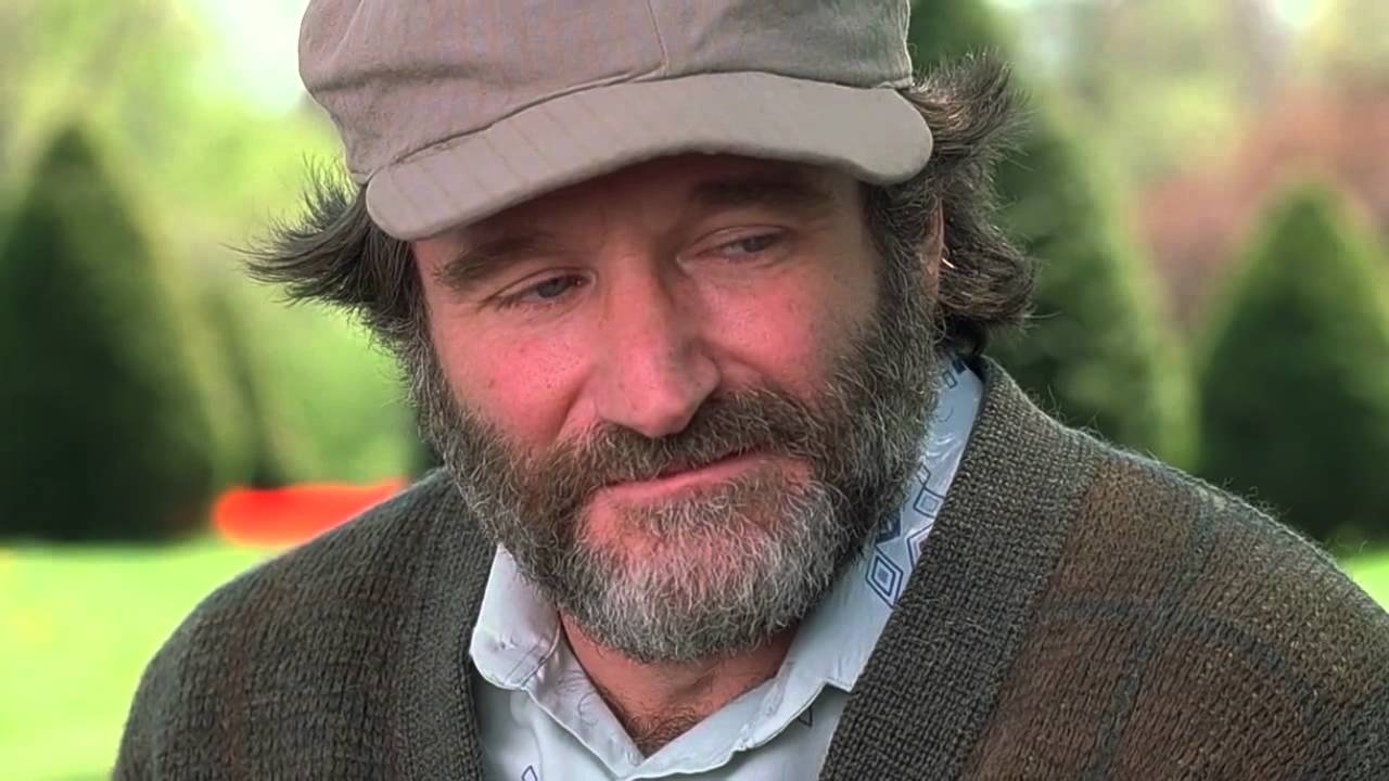 Robin Williams i Good Will Hunting.