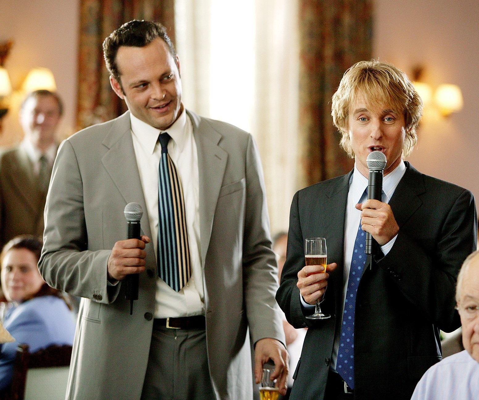 Owen Wilson och Vince Vaughn i Wedding Crashers.