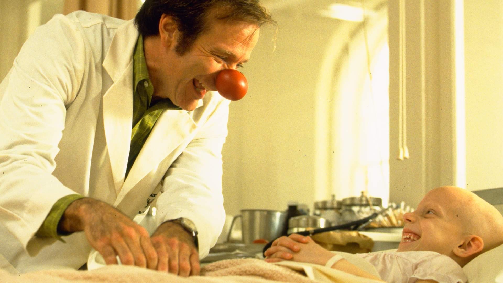 Robin Williams i Patch Adams.