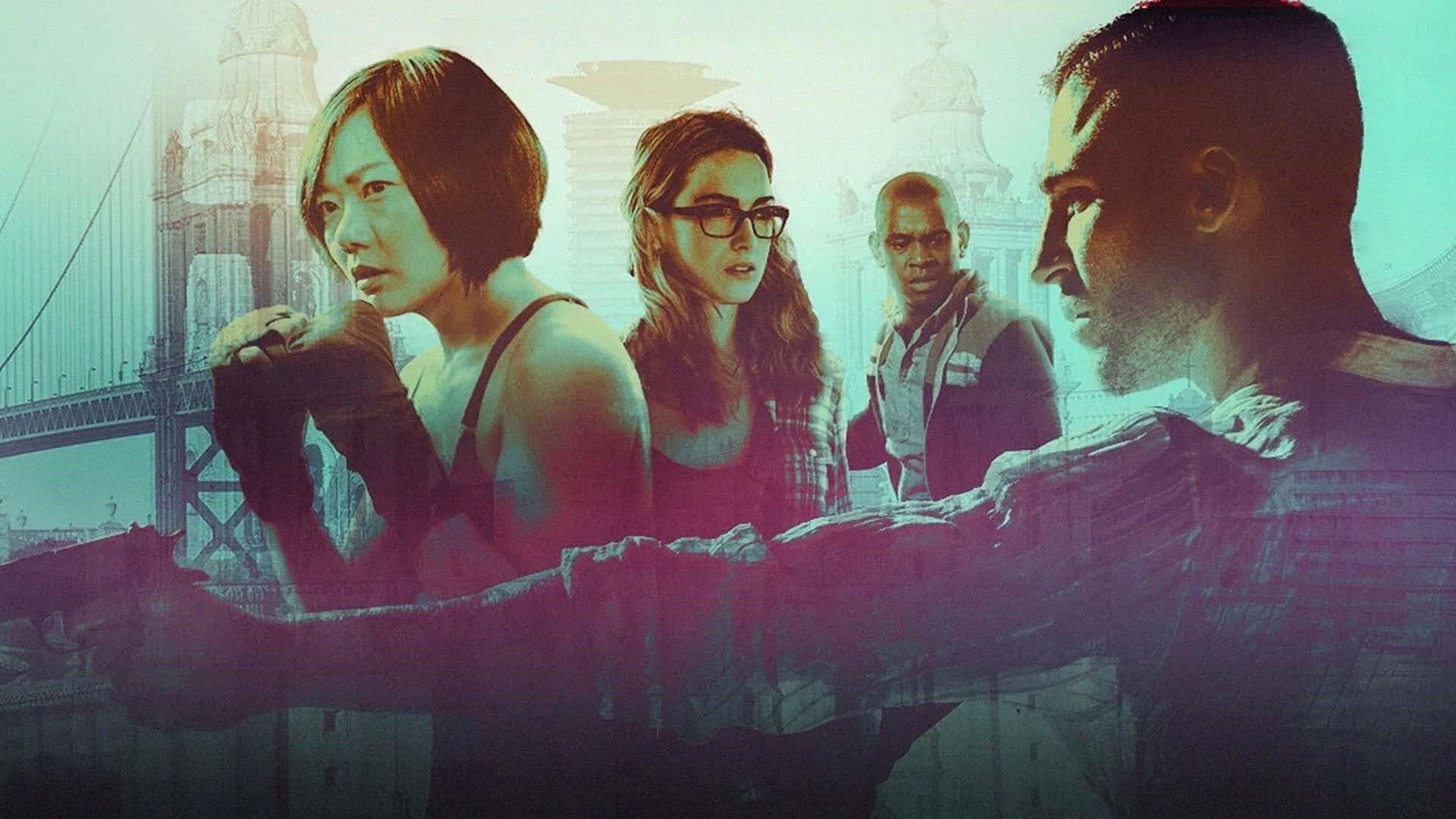 """Vi fick se hur det gick för """"klustret"""" i Sense8. Foto: Netflix."""