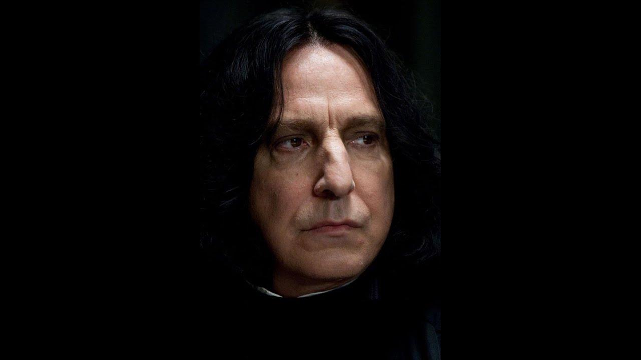 Alan Rickman som Severus Snape.
