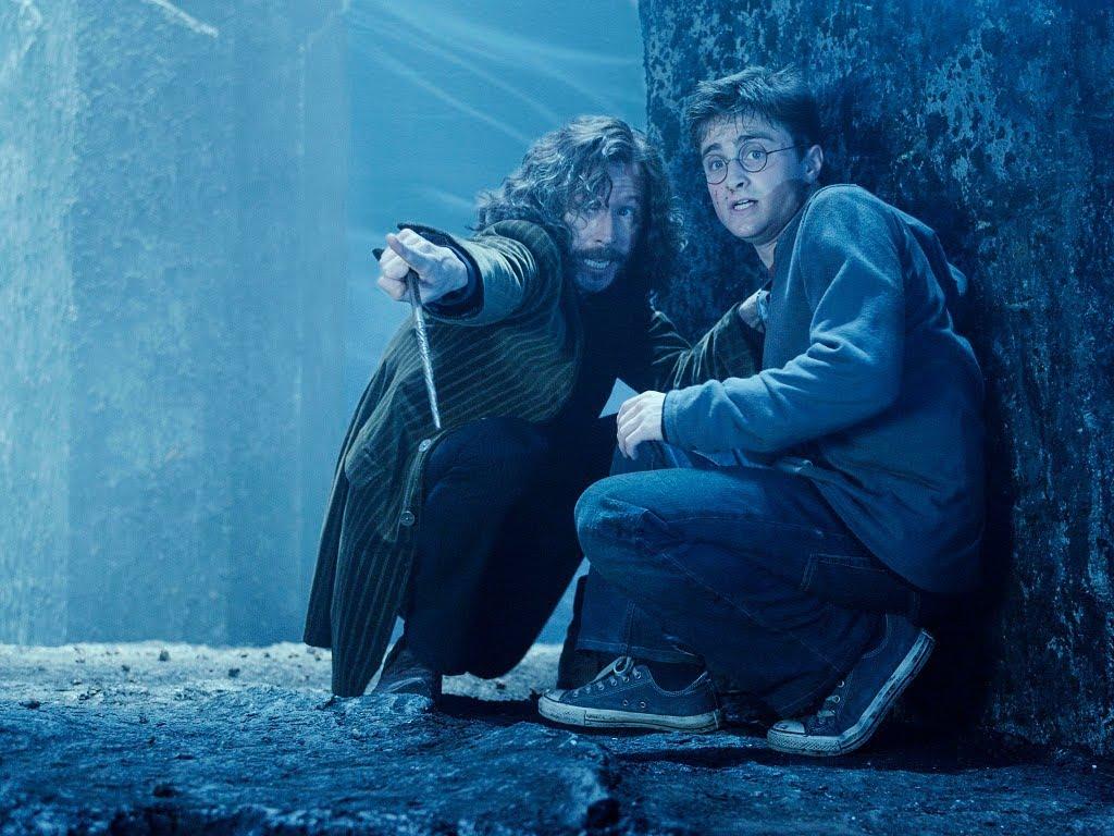 Gary Oldman och Daniel Radcliffe i Harry Potter och Fenixorden. Foto: Warner Bros.