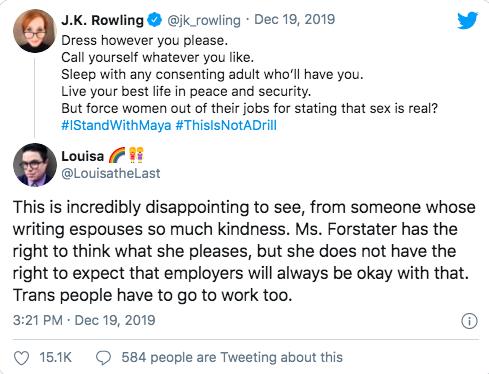 J.K. Rowlings tweet