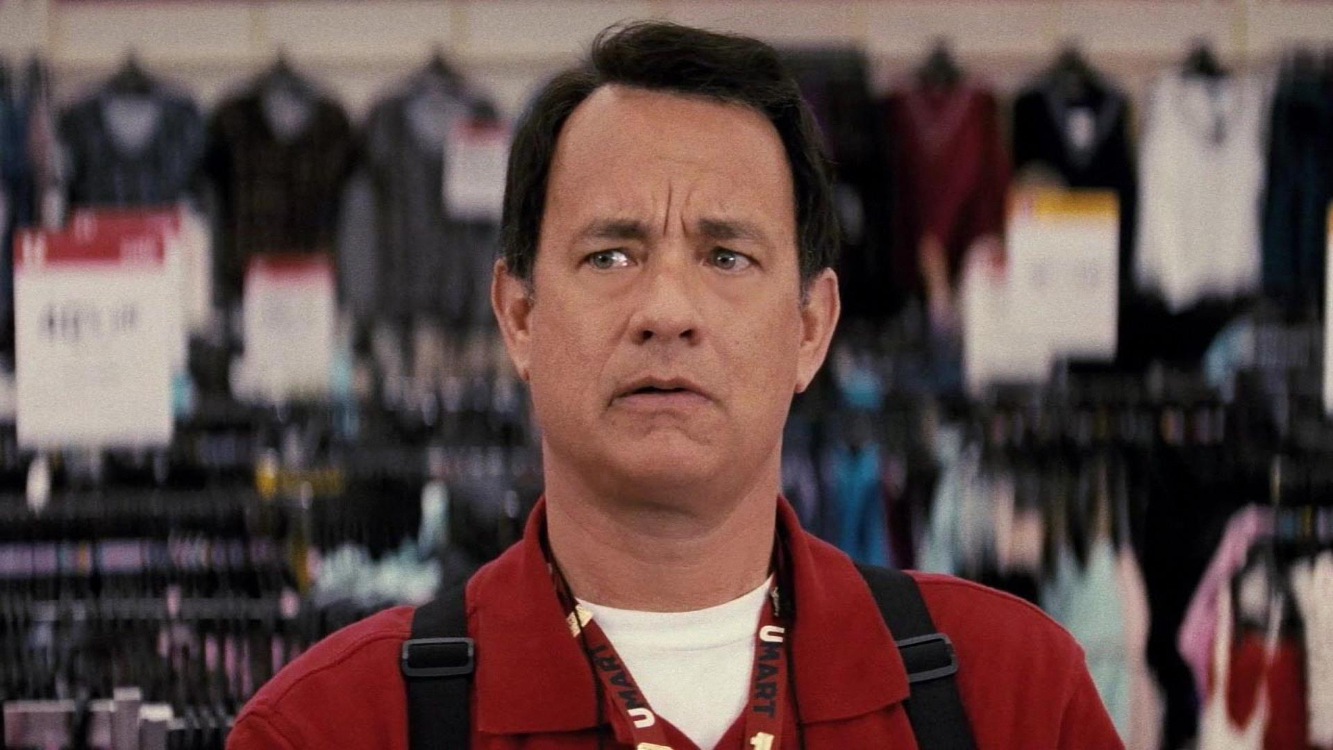 Tom Hanks i Larry Crown.