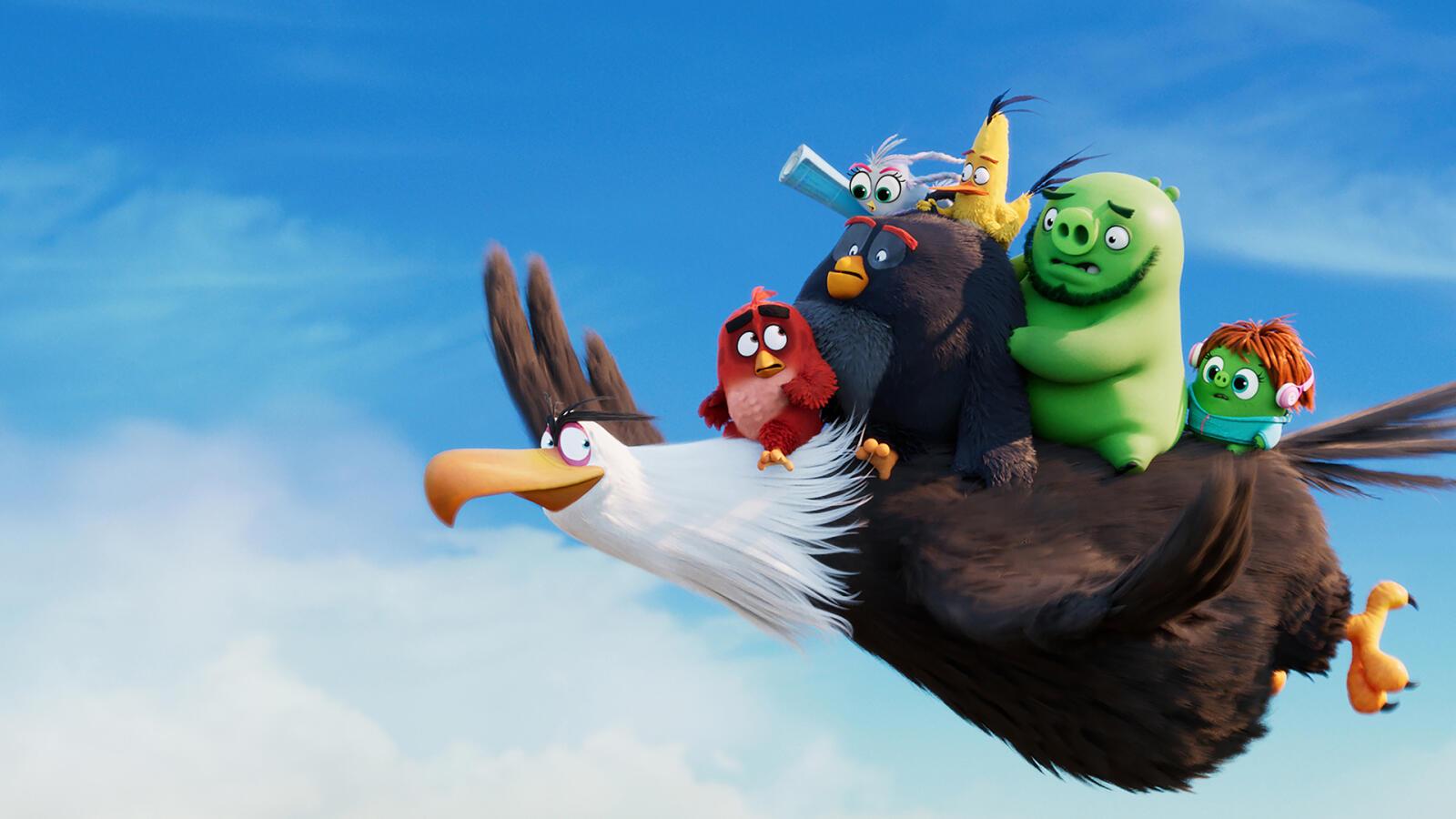 Nya filmer på Viaplay - The Angry Birds Movie 2