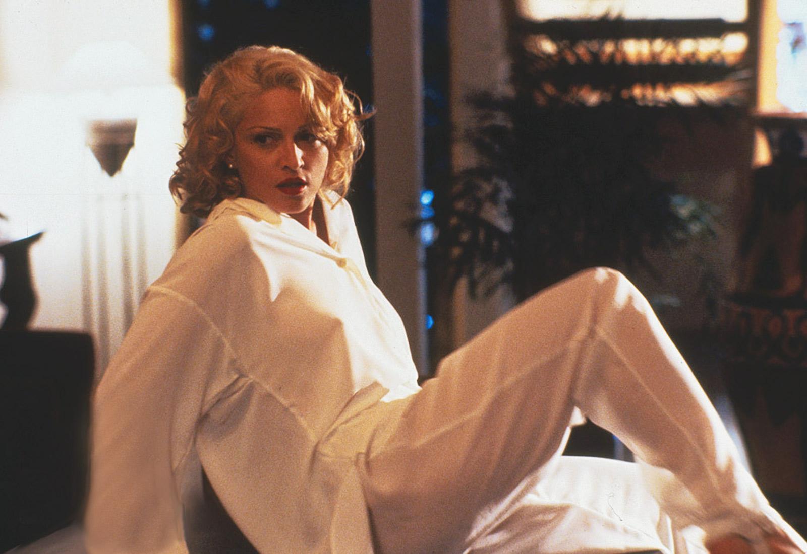 """Madonna i filmen """"The Body of Evidence""""."""
