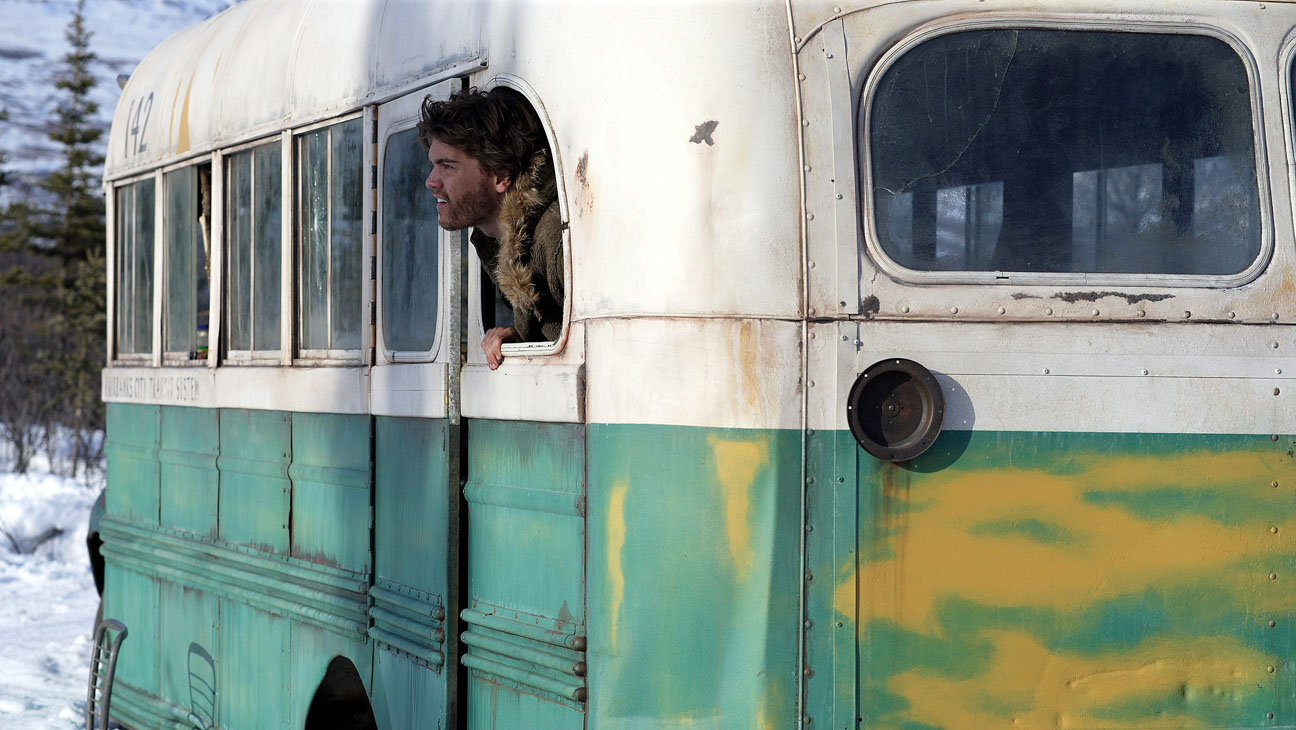 Emilie Hirsch som Christopher McCandless i Into the Wild.