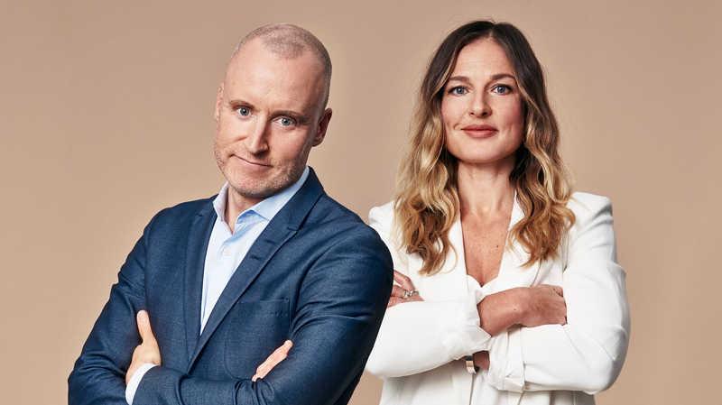 Magnus Hedberg och Madgalena Wolanczyk.
