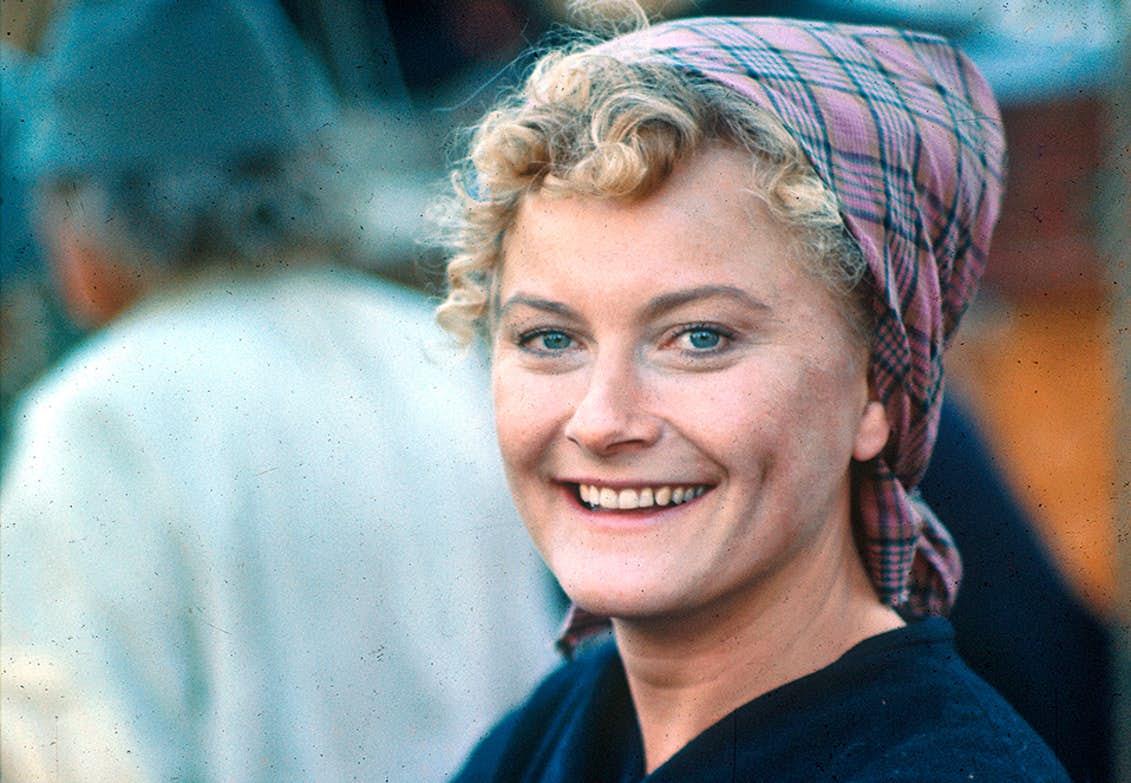 Monica Zetterlund i Utvandrarna