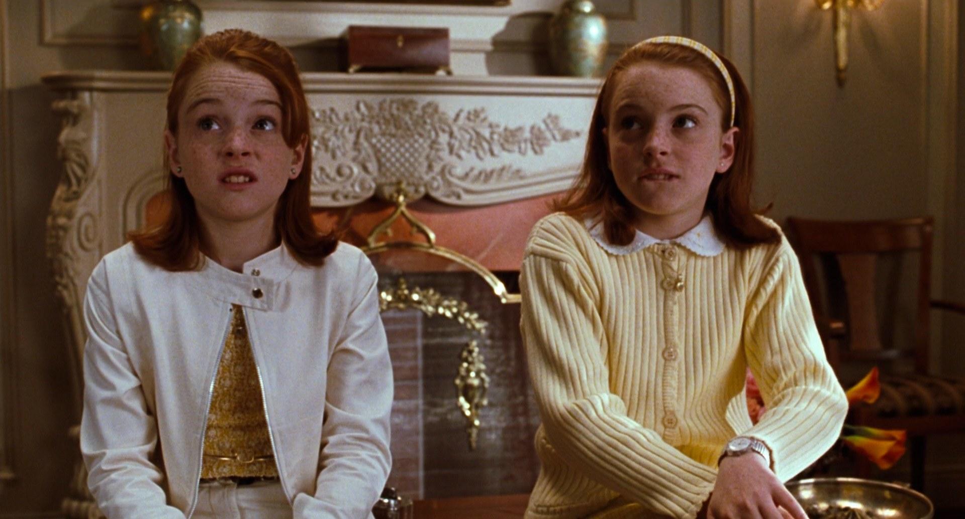 Lindsay Lohan spelar mot sig själv i filmen Föräldrafällan