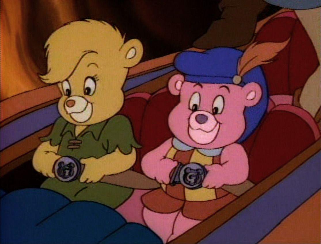 Två björnar redo för äventyr
