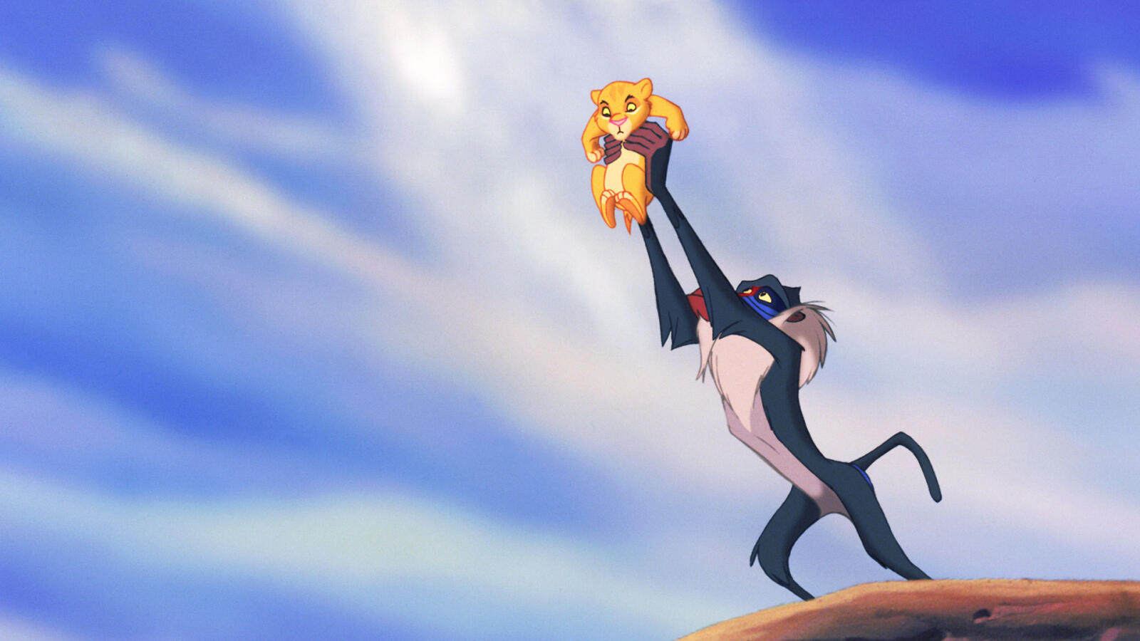 Lejonkungen på Disney Plus