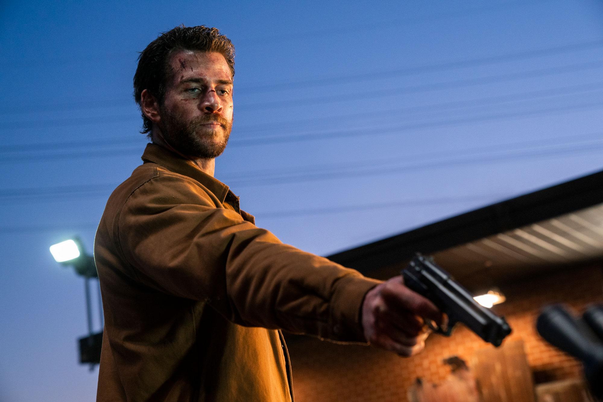 "Liam Hemsworth i ""Most Dangerous Game""."