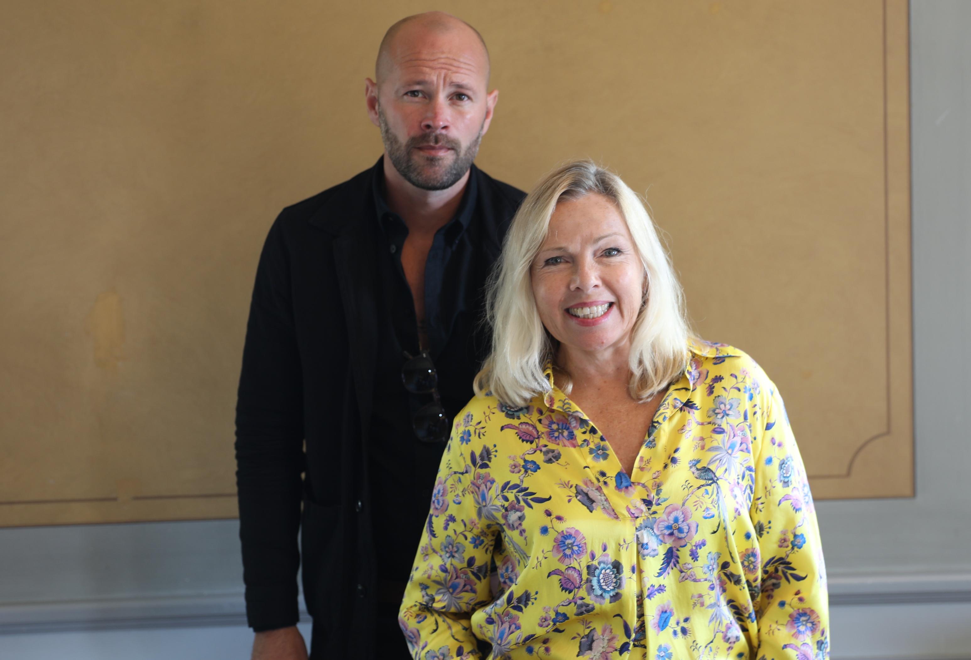 Ulf Stenberg och Görel Crona