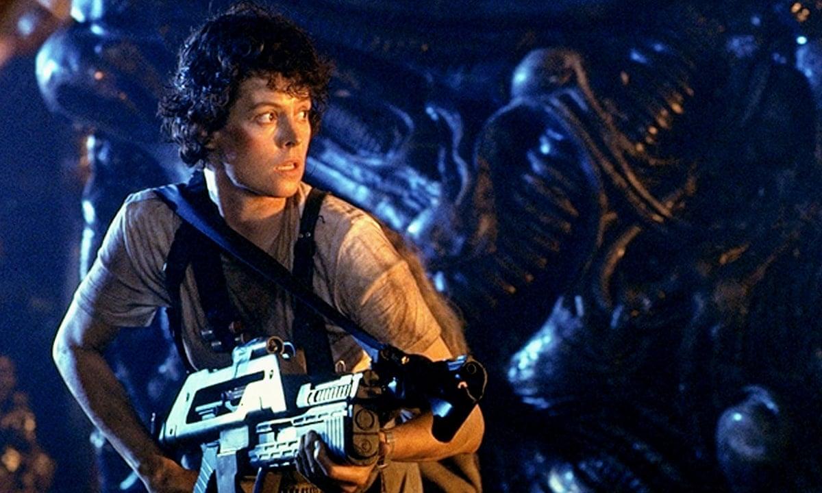 "Sigourney Weaver i ""Aliens""."