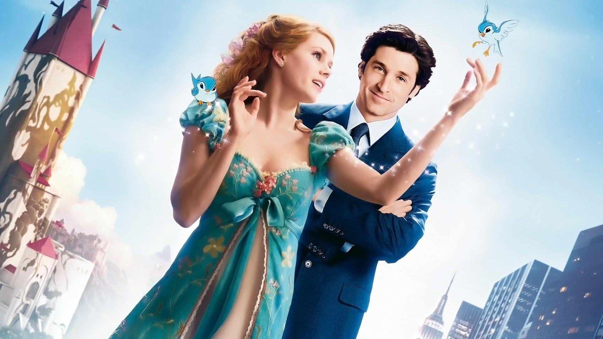 Giselle och Robert i Enchanted