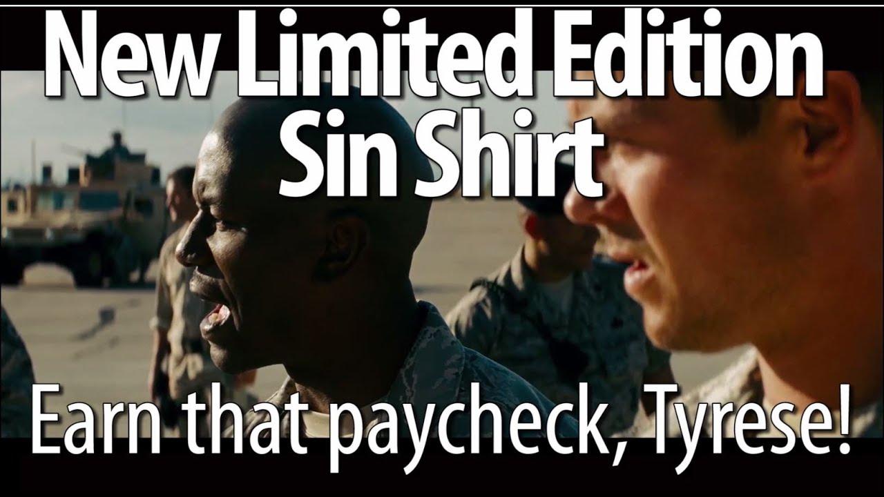 Här tjänar Tyrese Gibson pengar i Transformers. Foto: Paramount Pictures och Cinemasins.