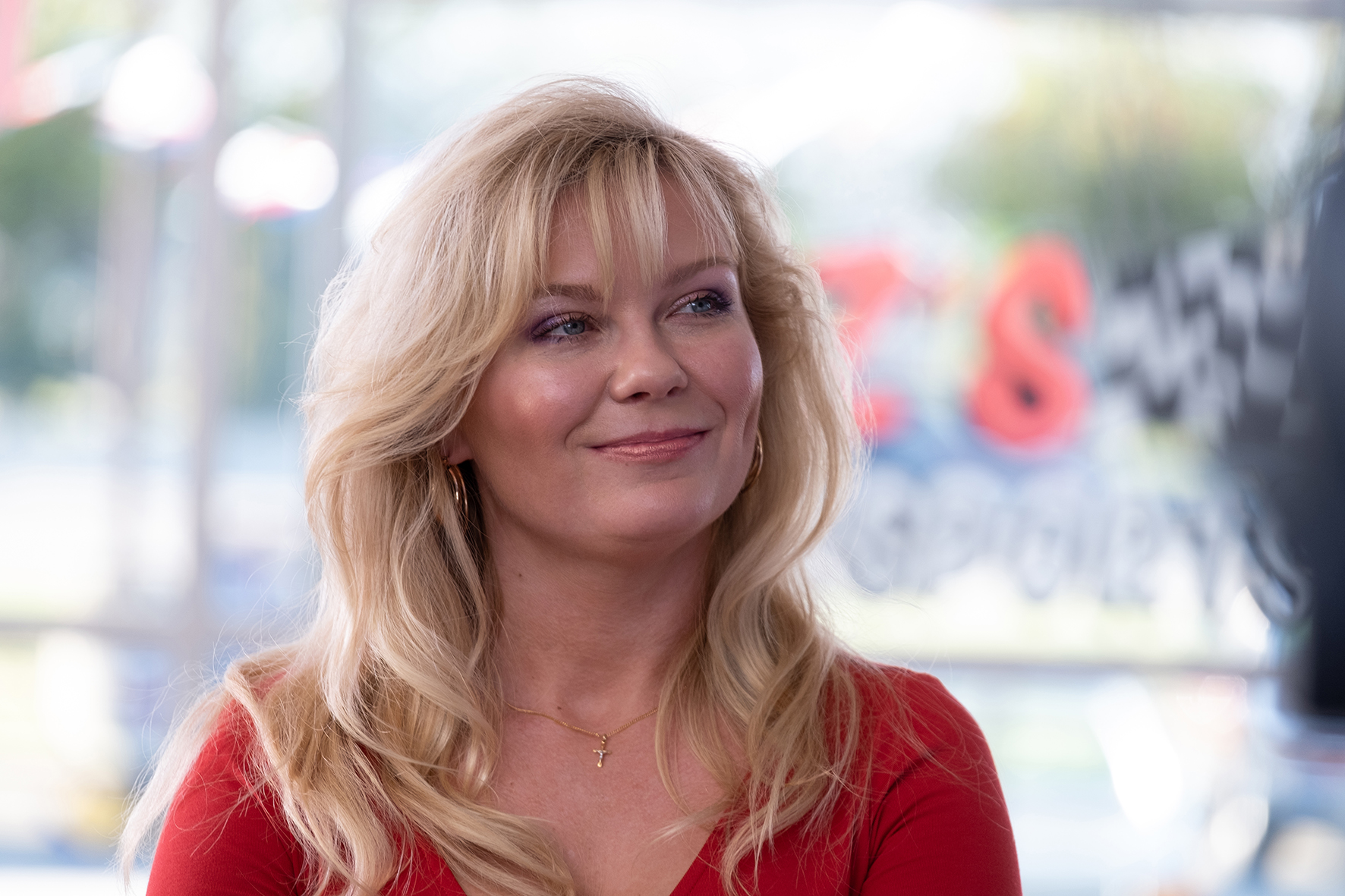 """Kirsten Dunst i """"On Becoming a God in Central Florida""""."""