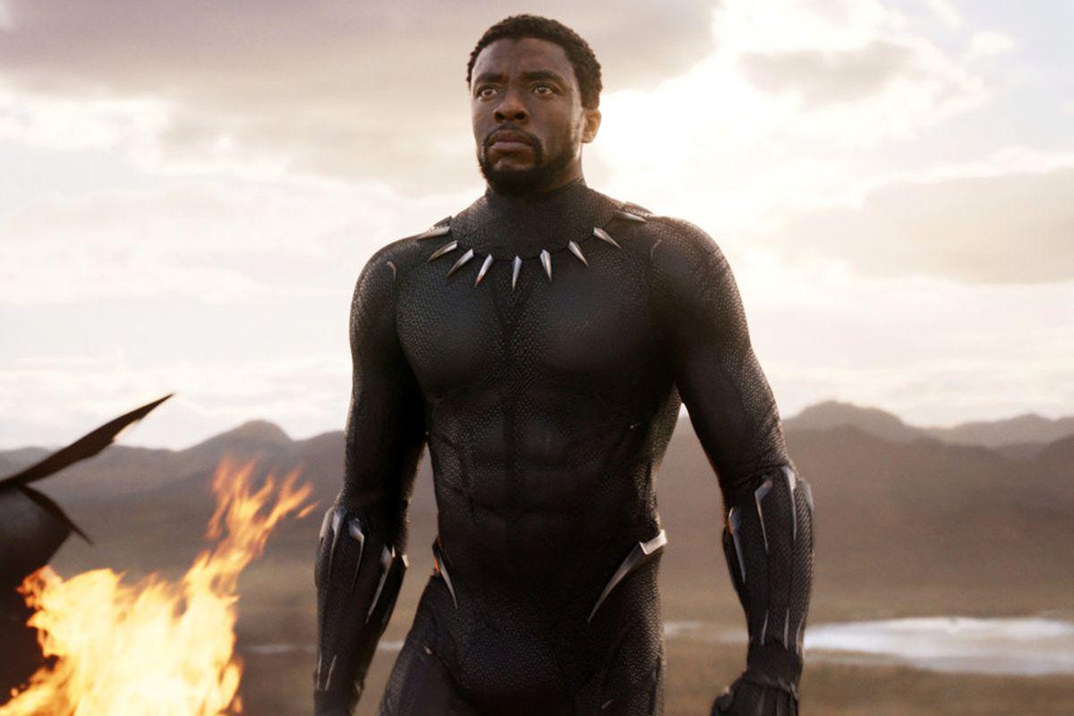 """Chadwick Boseman i """"Black Panther""""."""