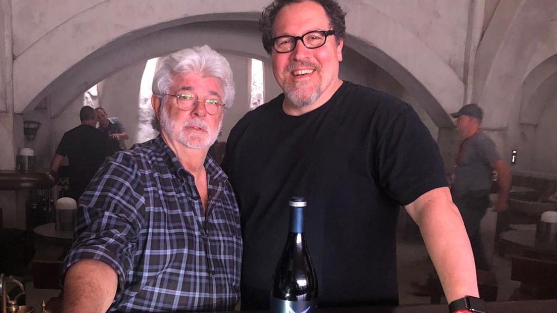George Lucas och Jon Favreau