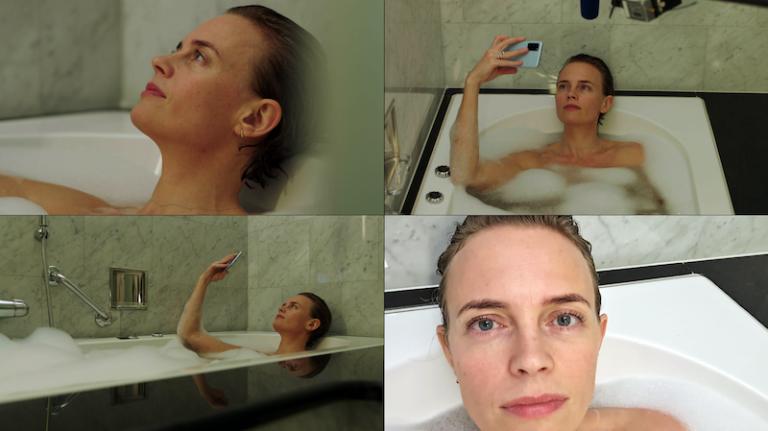 Josephine Bornebusch i Orca som är en av nya filmer att streama