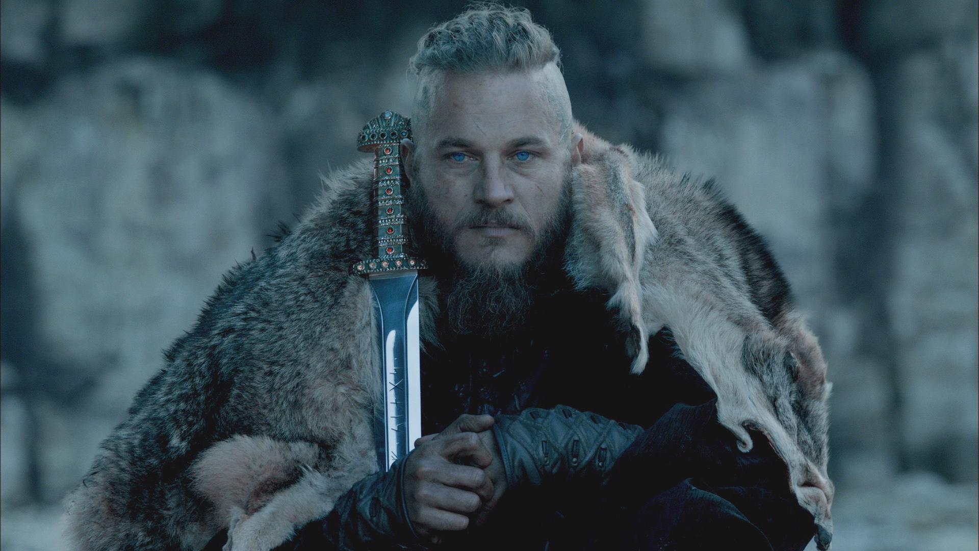 Ragnar i serien Vikings