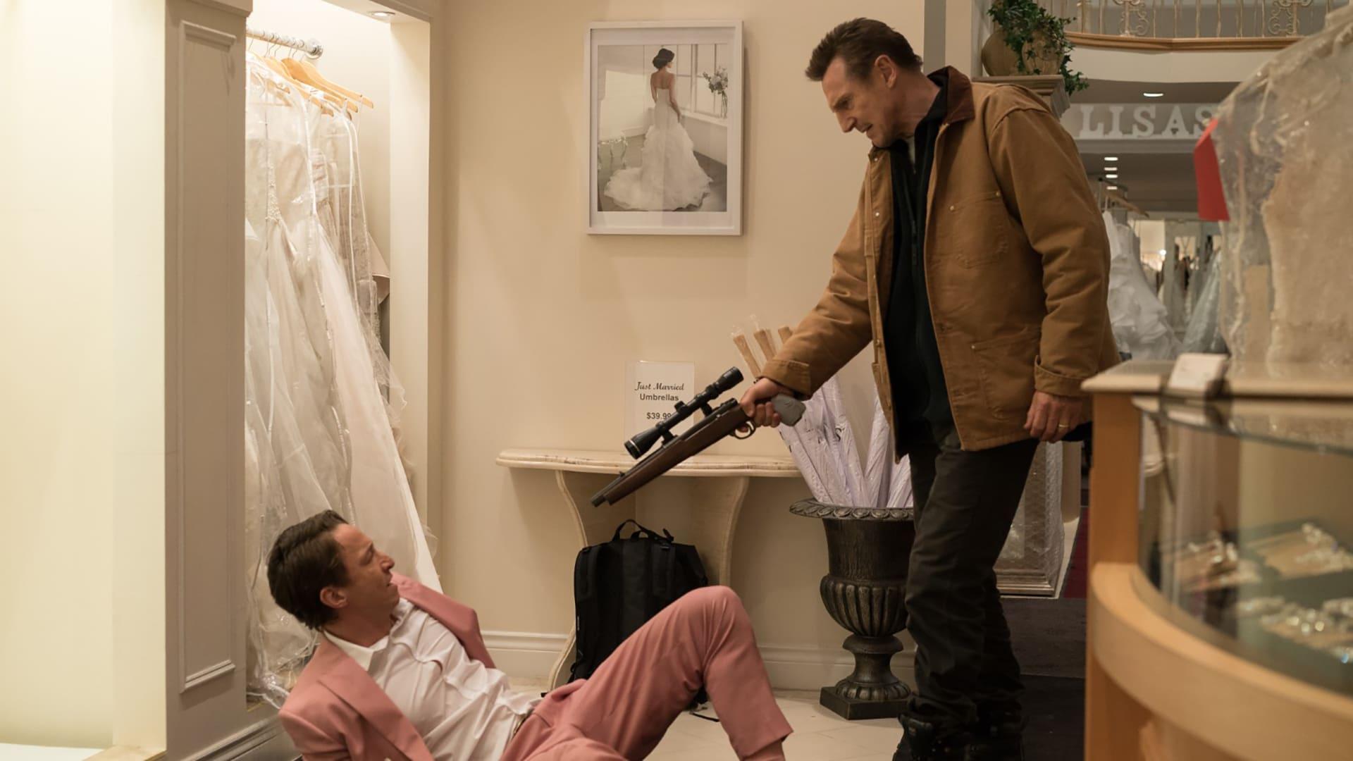 Liam Neeson riktar vapen mot de som gjort honom orätt