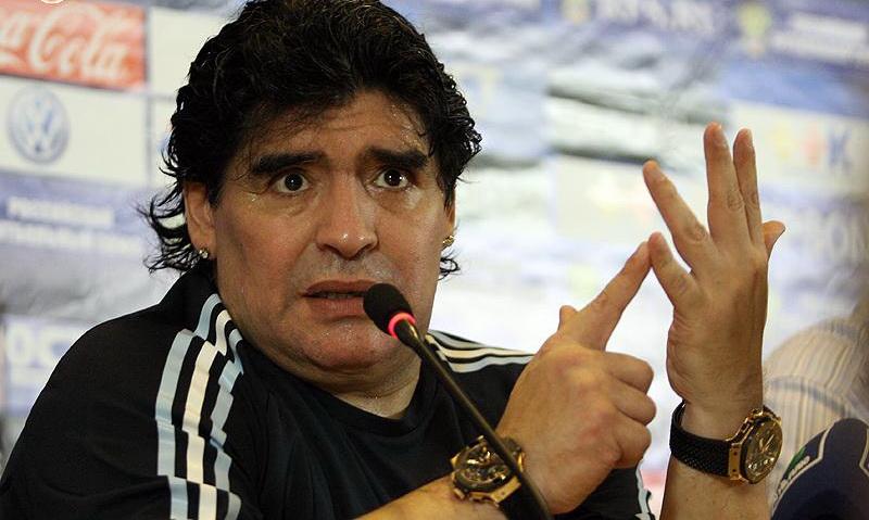 Maradona. Foto: Alexandr Mysyakin/Wikimedia Commons