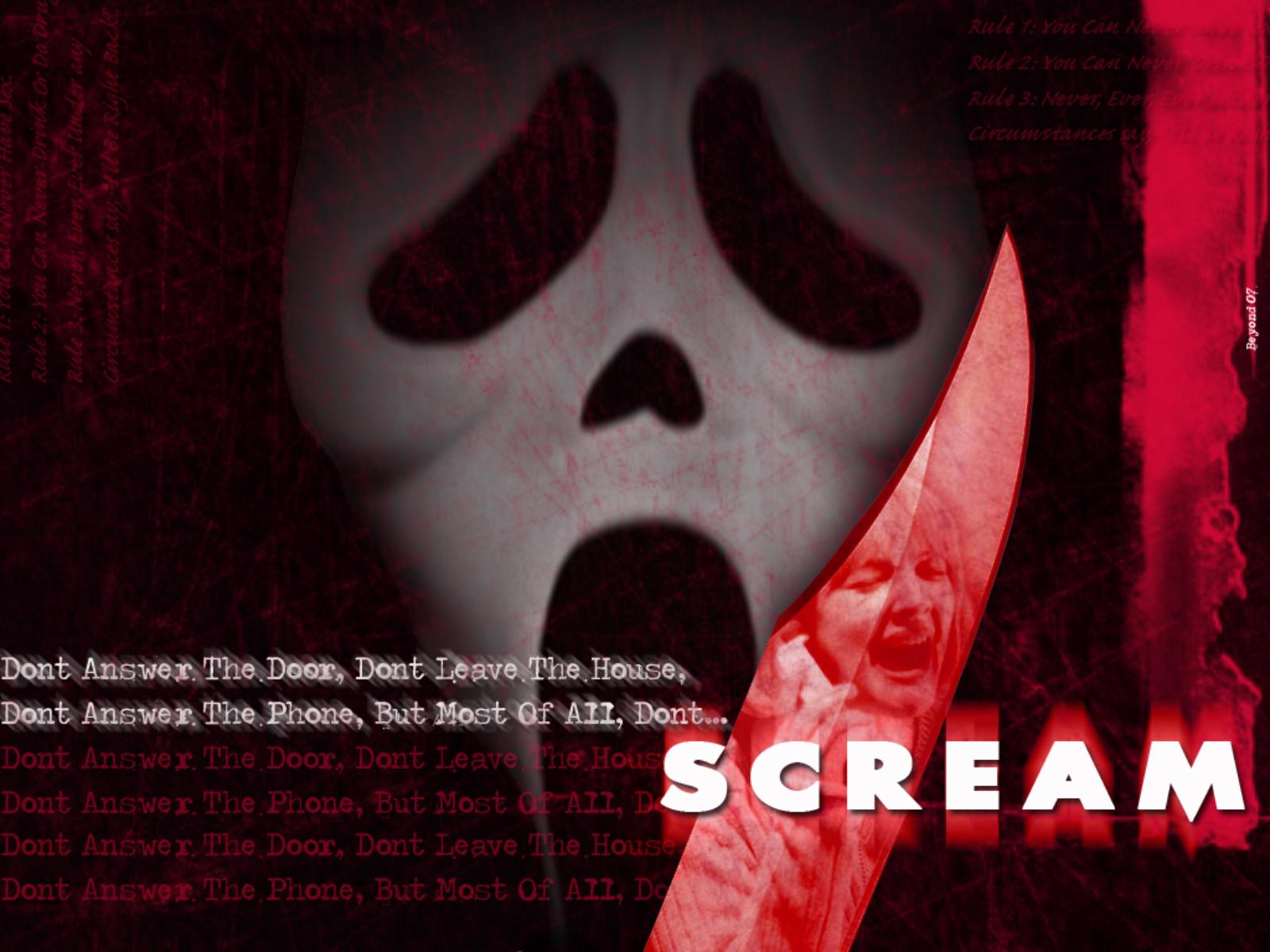 Scream wallpaper