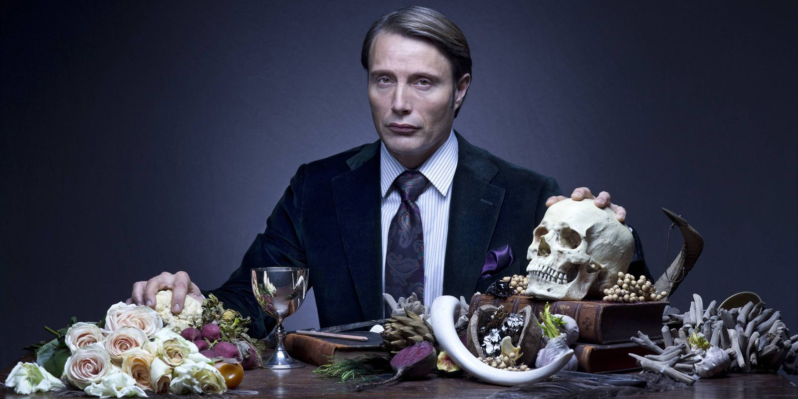 "Mads Mikkelsen i ""Hannibal""."