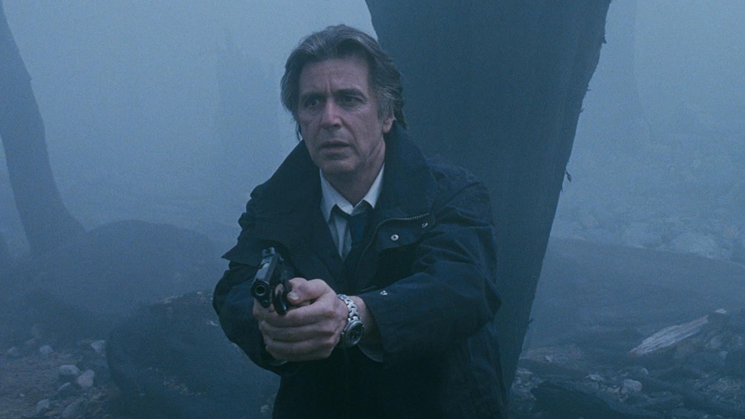 Al Pacino som sömnlös detektiv i den amerikanska versionen av Insomnia