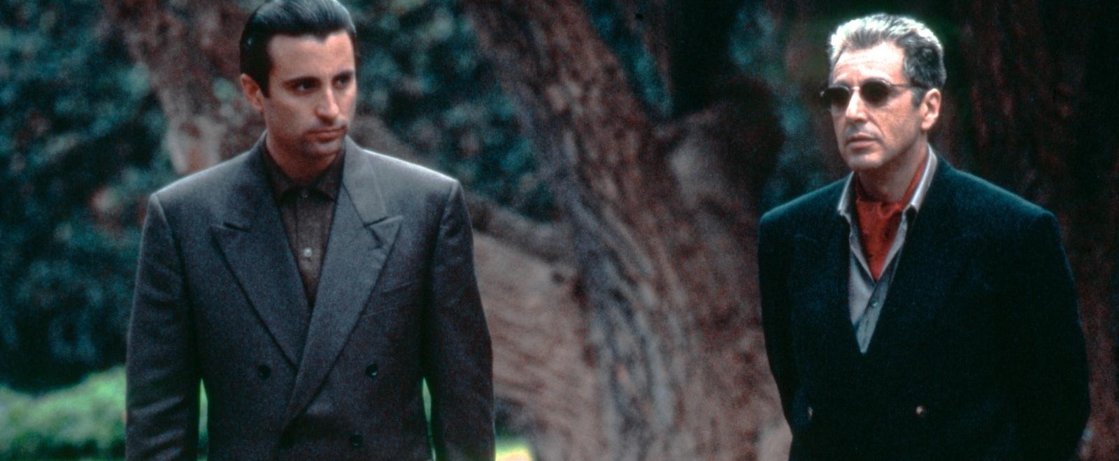 Andy Garcia och Al Pacino.