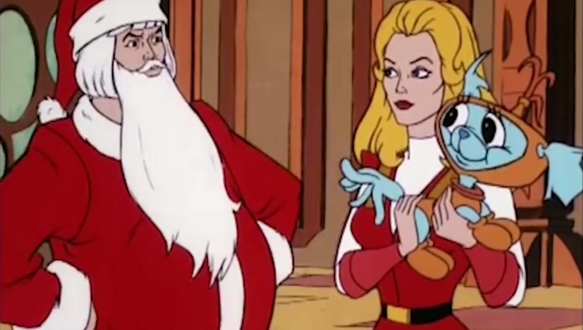 He-Man och She-Ra firar julen