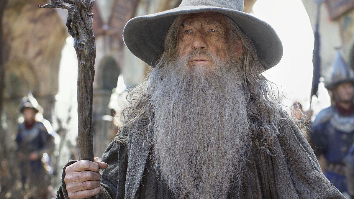 Ian McKellen som Gandalf