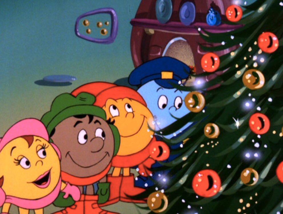 Pac-Man firar jul med sin familj