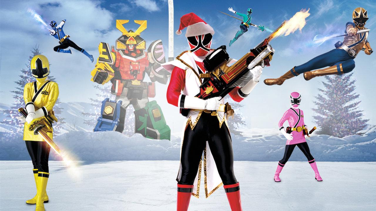 Power Rangers firar julen