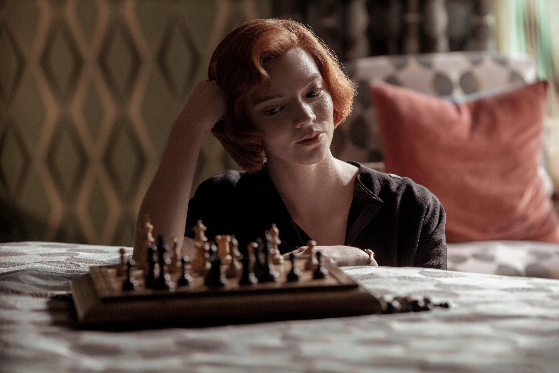 Anya Taylor-Joy i Queens Gambit