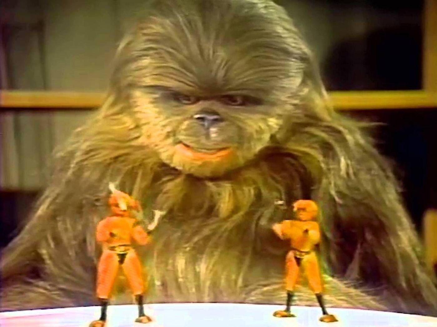 Wookie firar Life Day